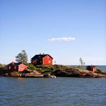 Hus i Finland
