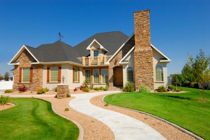 Nytt hus- skrytbygge i amerikansk stil
